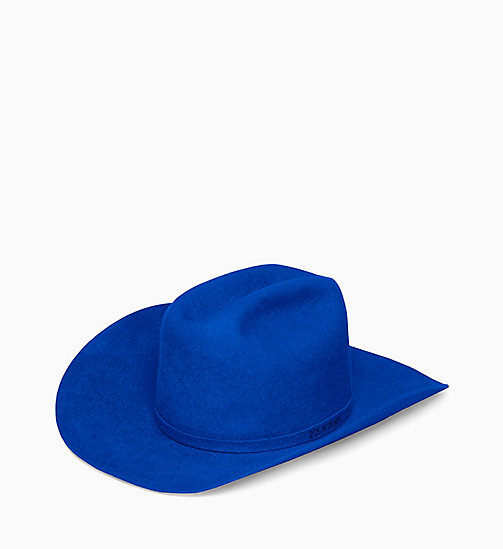 205W39NYC Chapeau de cowboy 205W39NYC - ELECTRIC BLUE - 205W39NYC VÊTEMENTS - image principale