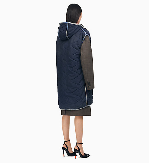 205W39NYC Sleeping Bag Sleeveless Parka - NAVY - 205W39NYC CLOTHES - detail image 1