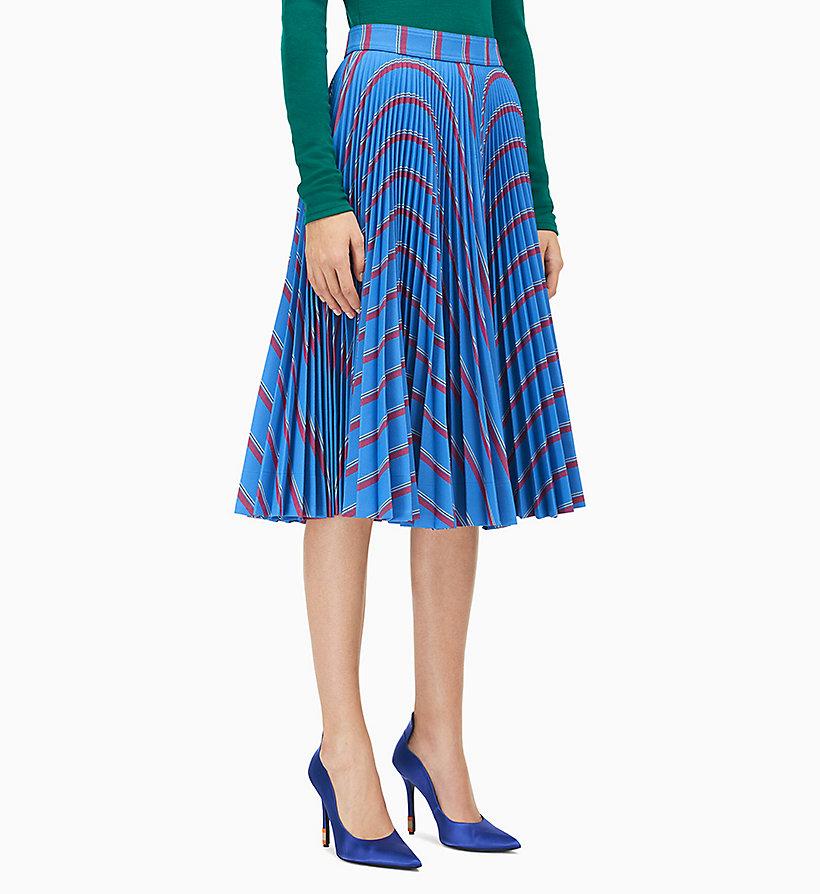 033bb2e20aafd7 Jupe plissée soleil en sergé lourd Calvin Klein® | CO91WWSB00950