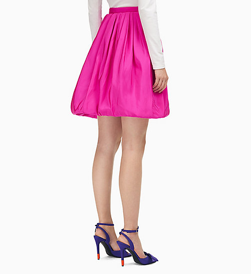 205W39NYC Couture Volume Skirt in Silk Faille - BRIGHT FUCHSIA - 205W39NYC CLOTHES - detail image 1