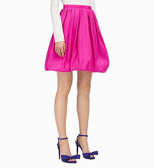 205W39NYC Couture Volume Skirt in Silk Faille - BRIGHT FUCHSIA - 205W39NYC CLOTHES - main image