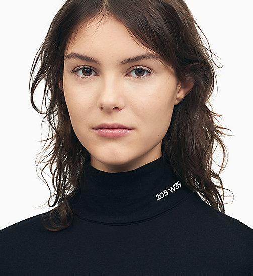205W39NYC 205W39NYC Turtleneck Jumper - BLACK - 205W39NYC CLOTHES - detail image 1