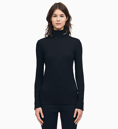 205W39NYC 205W39NYC Turtleneck Jumper - BLACK - 205W39NYC CLOTHES - main image