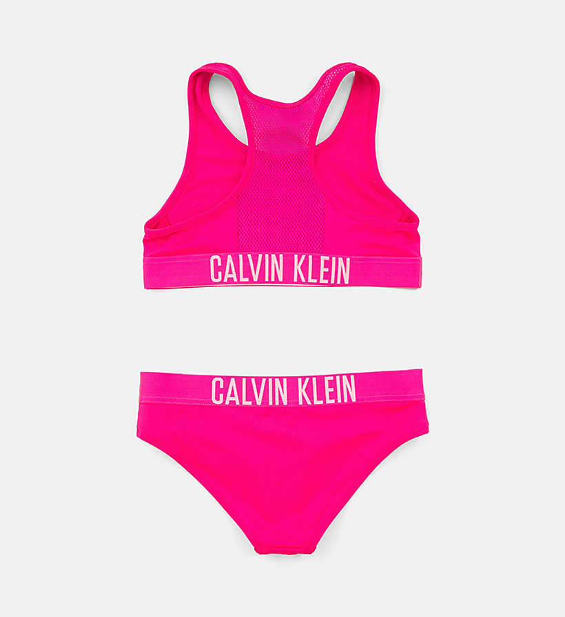 CALVINKLEIN Girls Bralette Bikini Set - Intense Power - LEMON TONIC - CALVIN KLEIN UNDERWEAR - detail image 1