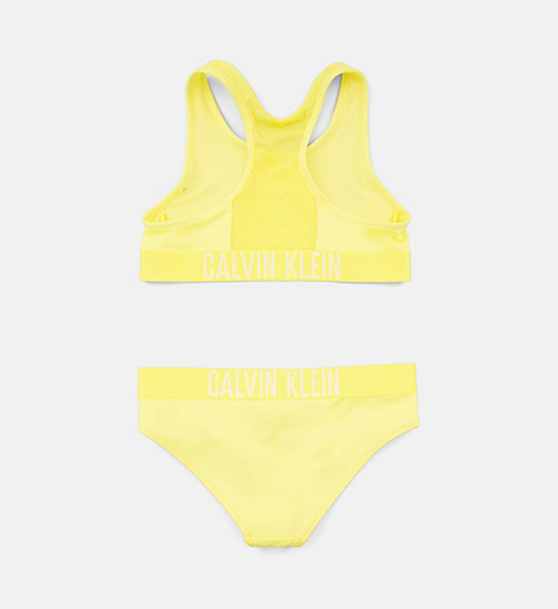 CALVINKLEIN Girls Bralette Bikini Set - Intense Power - LEMON TONIC - CALVIN KLEIN Girls - detail image 1