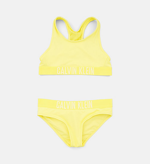 CALVINKLEIN Girls Bralette Bikini Set - Intense Power - LEMON TONIC - CALVIN KLEIN Girls - main image