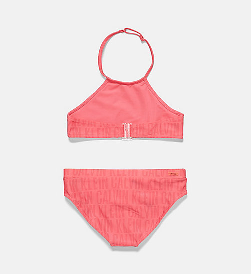 CALVINKLEIN Girls Tankini Set - Tonic - CK TONIC PT ROUGE RED - CALVIN KLEIN Girls - detail image 1