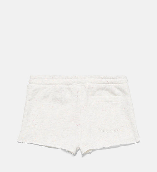 CALVINKLEIN Girls Shorts - Core Placed Logo - CONFETTI GREY HEATHER - CALVIN KLEIN Girls - detail image 1