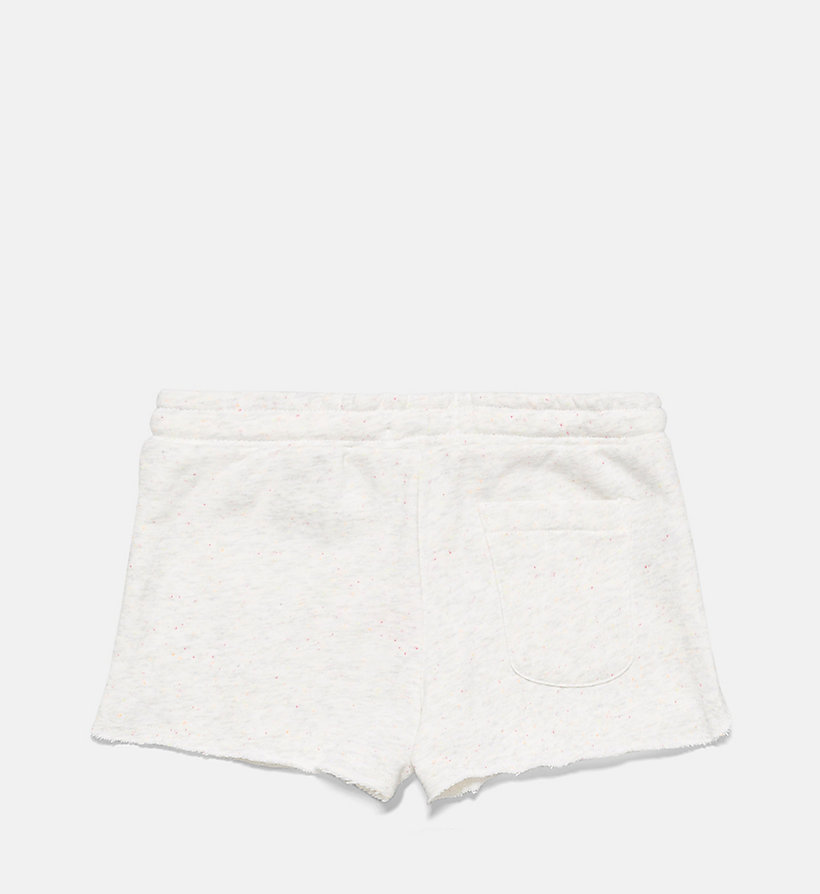 CALVINKLEIN Girls Shorts - Core Placed Logo - GREY HEATHER - CALVIN KLEIN UNDERWEAR - detail image 1