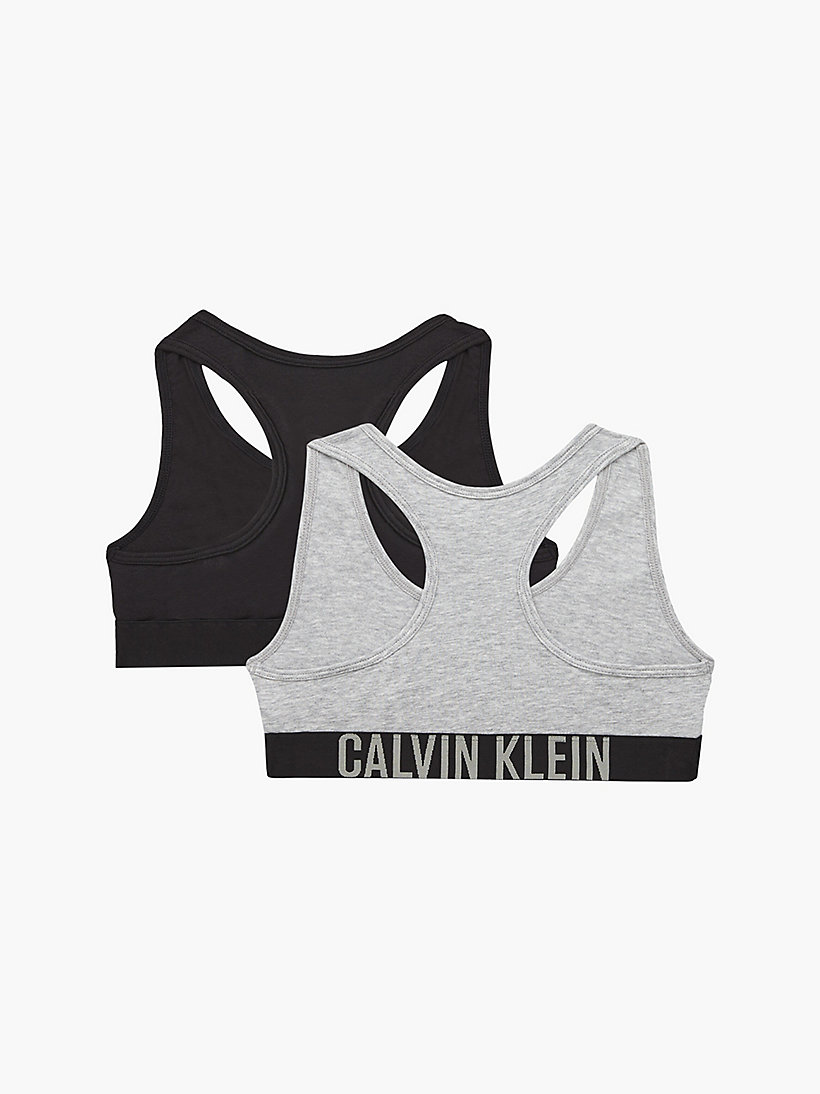 CALVINKLEIN 2 Pack Girls Bralettes - Intense Power - 1 RASPBERRY/1 WHITE - CALVIN KLEIN UNDERWEAR - detail image 1