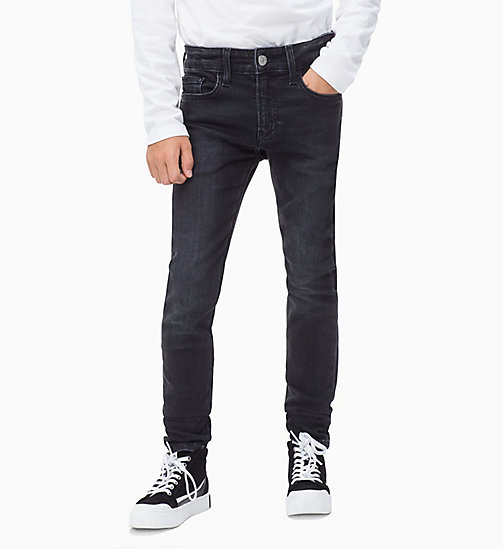 Skinny Jeans - JASPER BLACK STRETCH - CALVIN KLEIN JEANS MEN - main image