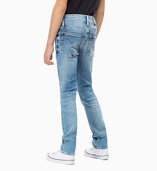 Slim Jeans - AZUR BLUE STRETCH - CALVIN KLEIN JEANS MEN - detail image 1