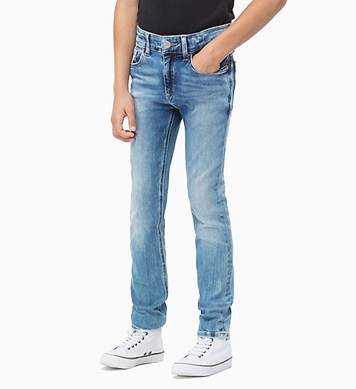 Slim Jeans - AZUR BLUE STRETCH - CALVIN KLEIN JEANS MEN - main image
