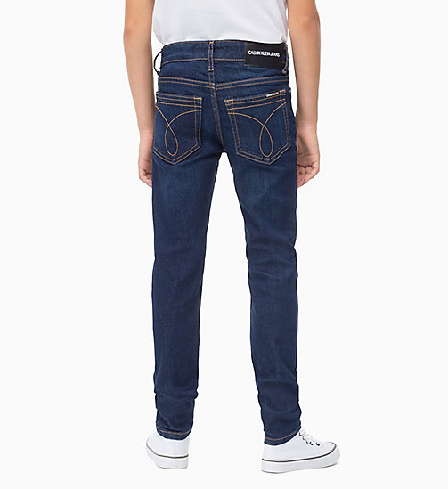 Slim Jeans - RINSE BLUE STRETCH - CALVIN KLEIN JEANS BOYS - detail image 1