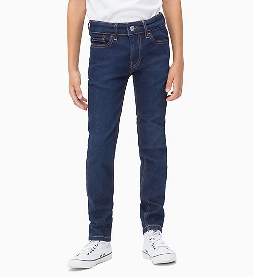 Slim Jeans - RINSE BLUE STRETCH - CALVIN KLEIN JEANS BOYS - main image