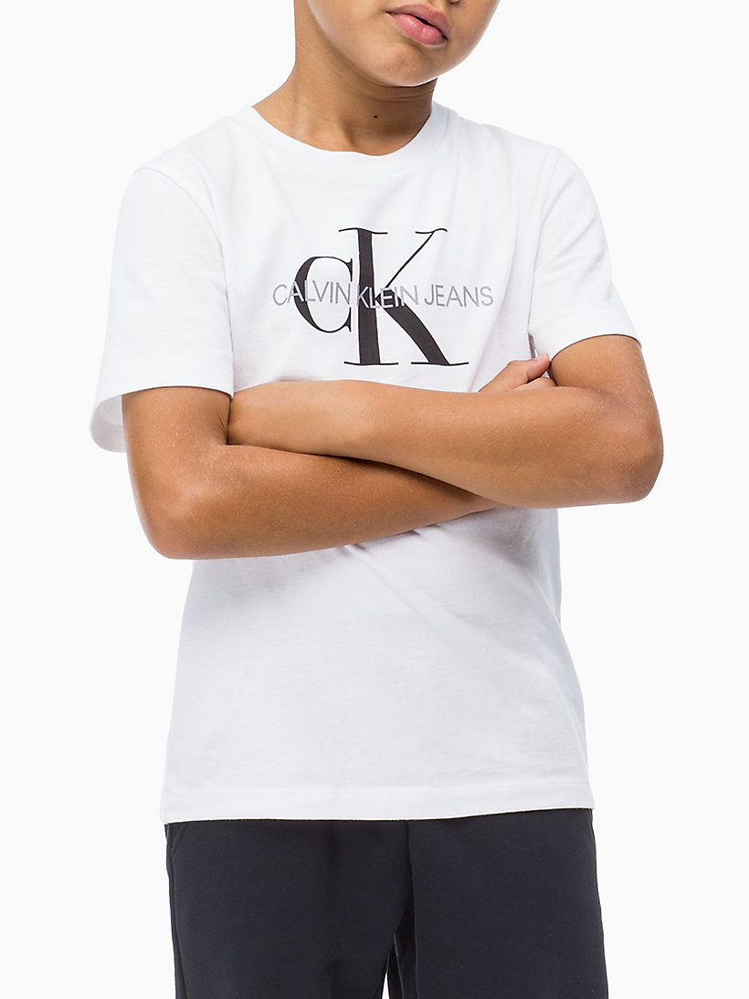 Logo T-shirt - BLACK BEAUTY - CALVIN KLEIN JEANS MEN - main image