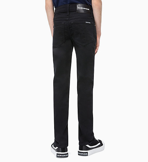 CALVIN KLEIN JEANS Slim Jeans - INFINITE BLACK STRETCH - CALVIN KLEIN JEANS MEN - detail image 1