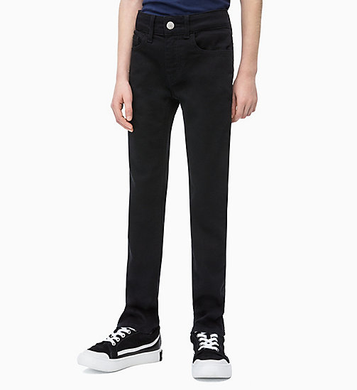 CALVIN KLEIN JEANS Slim Jeans - INFINITE BLACK STRETCH - CALVIN KLEIN JEANS MEN - main image