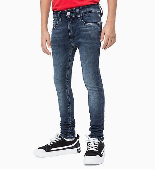CALVIN KLEIN JEANS Skinny Jeans - BLUE BLACK STRETCH - CALVIN KLEIN JEANS MEN - main image