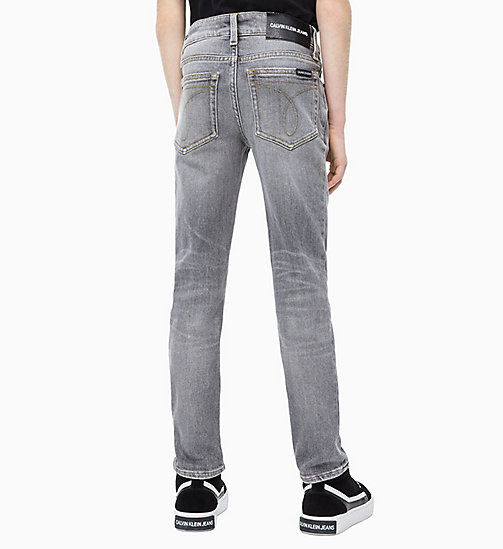 CALVIN KLEIN JEANS Slim Jeans - GREY AUTHENTIC COMFORT - CALVIN KLEIN JEANS MEN - detail image 1