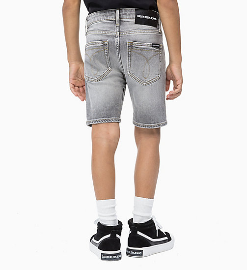 CALVIN KLEIN JEANS Tapered Denim Shorts - GREY AUTHENTIC COMFORT - CALVIN KLEIN JEANS HERREN - main image 1