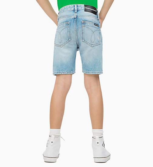 CALVIN KLEIN JEANS Tapered Vintage Denim Shorts - BRENTON AUTHENTIC BLUE RIGID - CALVIN KLEIN JEANS HERREN - main image 1
