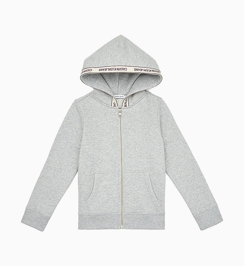 Calvin Klein Jeans Tape Zip Hoodie