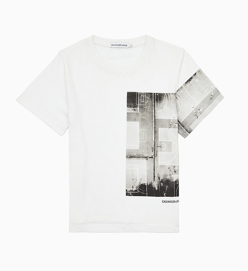 Recycled Fabric Photo Print T shirt CALVIN KLEIN