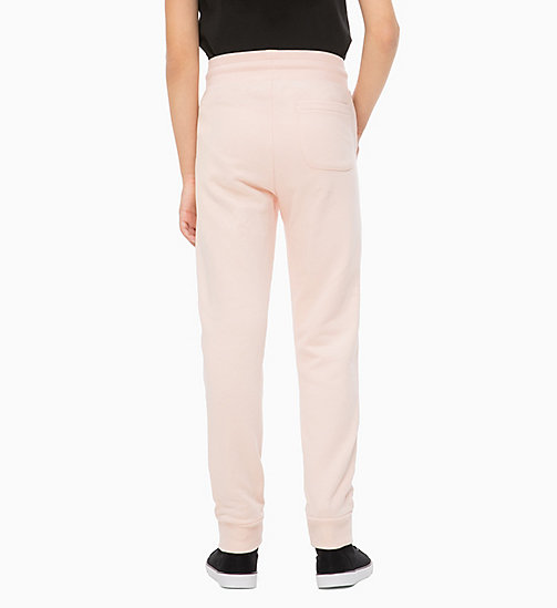 CALVIN KLEIN JEANS Relaxed Logo Joggers - PEACHY KEEN - CALVIN KLEIN JEANS GIRLS - detail image 1