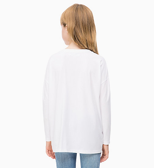 CALVIN KLEIN JEANS Drop Shoulder T-shirt - BRIGHT WHITE - CALVIN KLEIN JEANS MEN - detail image 1