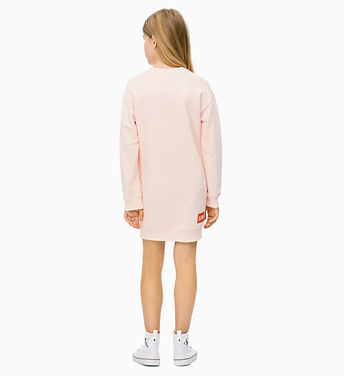 Logo Sweatshirt Dress - PEACHY KEEN - CALVIN KLEIN JEANS MEN - detail image 1