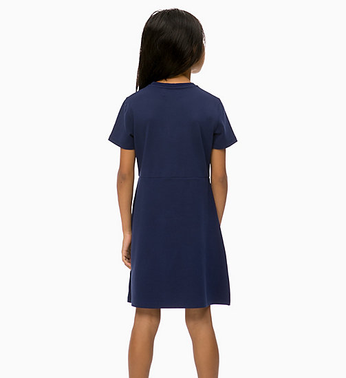CALVIN KLEIN JEANS Skater Dress - PEACOAT - CALVIN KLEIN JEANS GIRLS - detail image 1