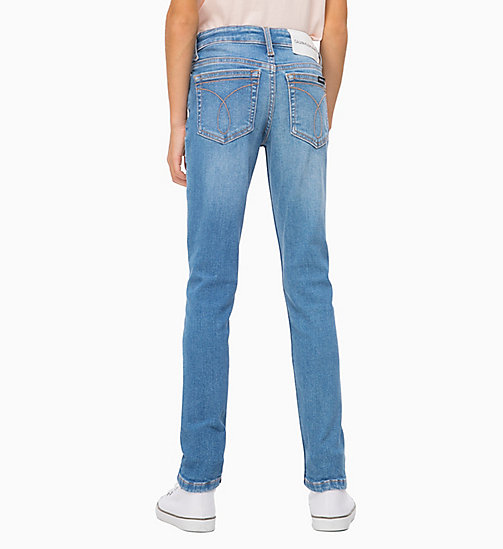 CALVIN KLEIN JEANS Skinny jeans - GIBSON BLUE STRETCH - CALVIN KLEIN JEANS MEISJES - detail image 1