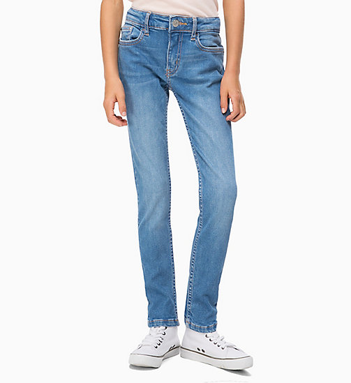 CALVIN KLEIN JEANS Jeans skinny - GIBSON BLUE STRETCH - CALVIN KLEIN JEANS RAGAZZA - immagine principale