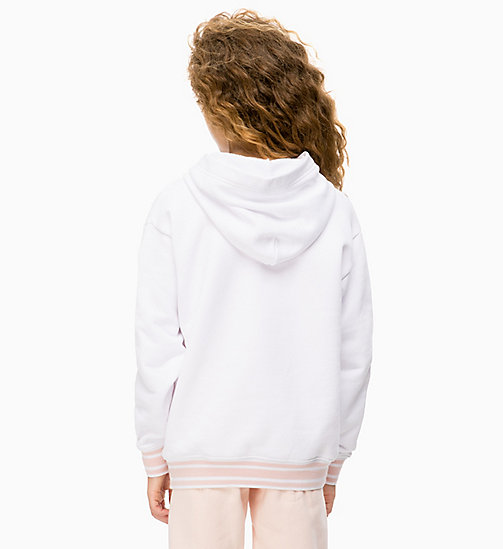 CALVIN KLEIN JEANS Photo Print Hoodie - BRIGHT WHITE - CALVIN KLEIN JEANS MEN - detail image 1