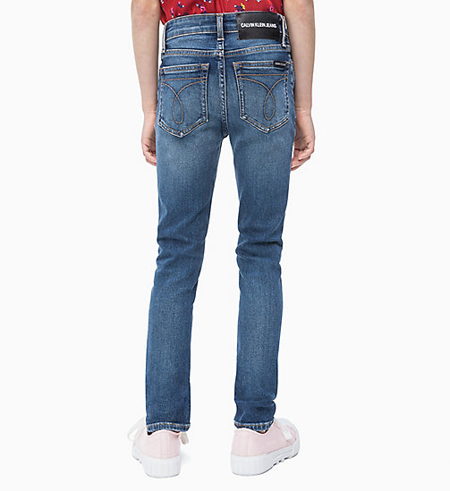 CALVIN KLEIN JEANS Skinny Jeans - ESSENTIAL MID BLUE STRETCH - CALVIN KLEIN JEANS MEN - detail image 1