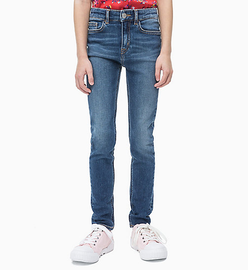 CALVIN KLEIN JEANS Skinny Jeans - ESSENTIAL MID BLUE STRETCH - CALVIN KLEIN JEANS MEN - main image