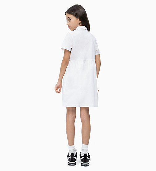 CALVIN KLEIN JEANS Shirt Dress - BRIGHT WHITE - CALVIN KLEIN JEANS MEN - detail image 1
