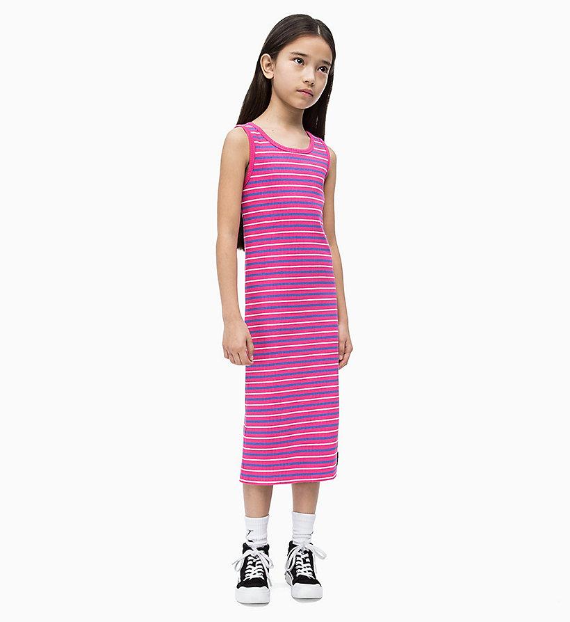e708014a70ba Полосатое платье-чехол в рубчик Calvin Klein®   IG0IG00151500