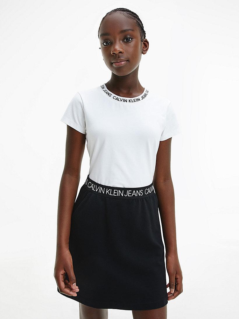 Slim Logo Collar T Shirt Calvin Klein Ig0ig00543yaf