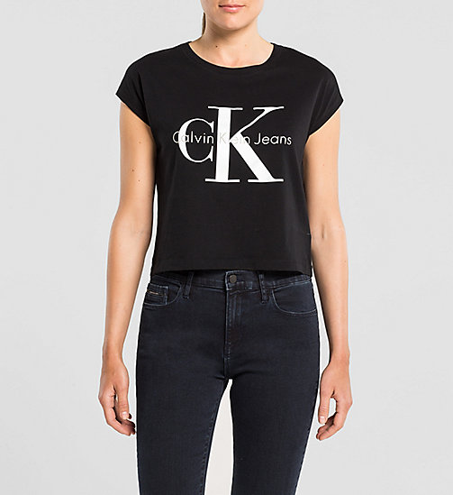 t shirts f r damen calvin klein. Black Bedroom Furniture Sets. Home Design Ideas