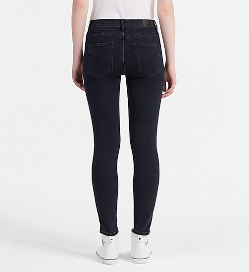 CALVIN KLEIN JEANS High Rise Skinny Jeans - WONDER RINSE - CALVIN KLEIN JEANS THE DENIM INDEX - detail image 1