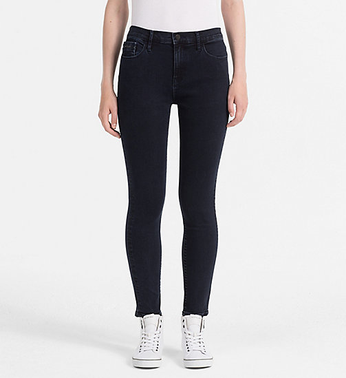 CALVIN KLEIN JEANS High Rise Skinny Jeans - WONDER RINSE - CALVIN KLEIN JEANS THE DENIM INDEX - main image