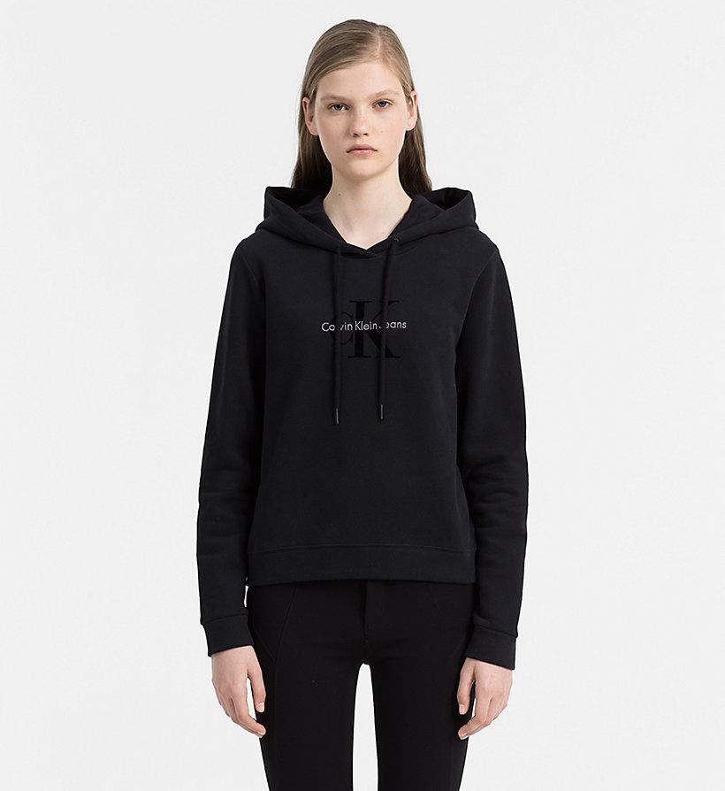 logo hoodie calvin klein j20j205650099. Black Bedroom Furniture Sets. Home Design Ideas