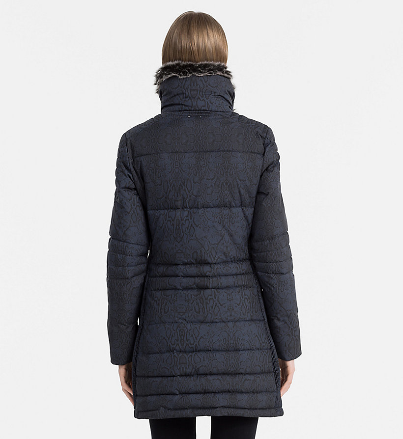 CALVIN KLEIN JEANS Fitted Padded Coat - CK BLACK - CALVIN KLEIN JEANS COATS & JACKETS - detail image 2