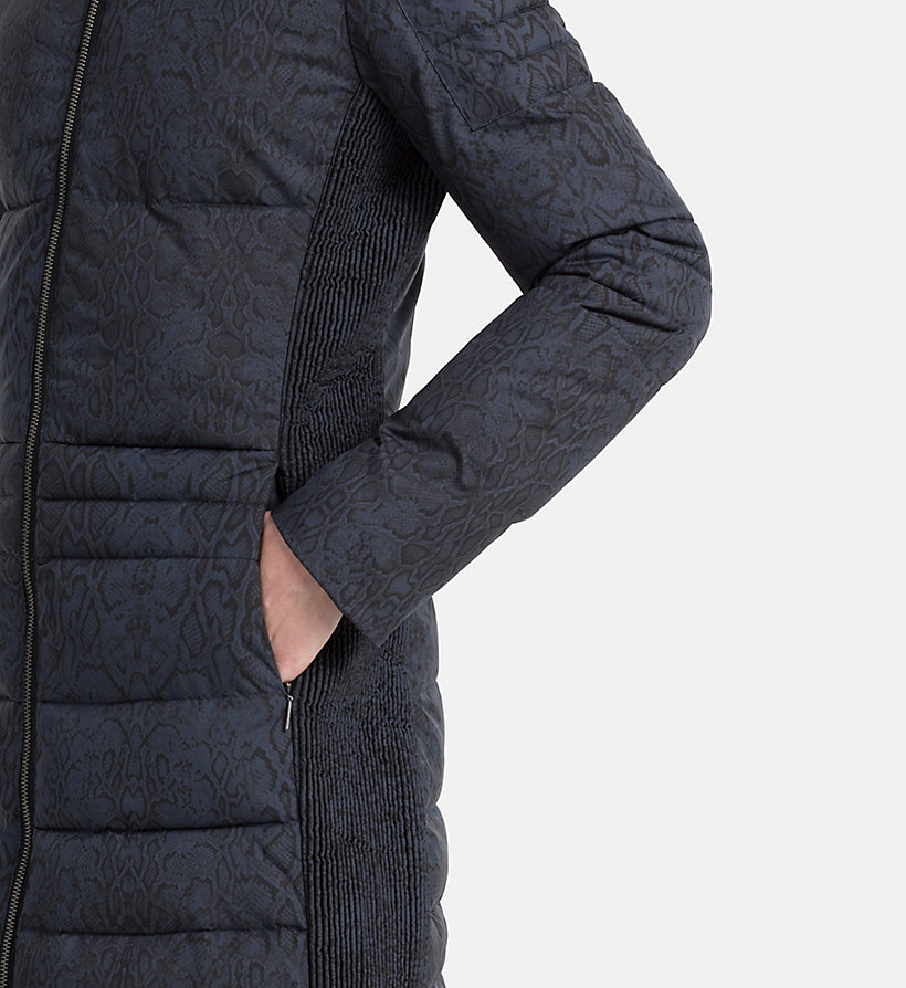 CALVIN KLEIN JEANS Fitted Padded Coat - CK BLACK - CALVIN KLEIN JEANS COATS & JACKETS - detail image 3