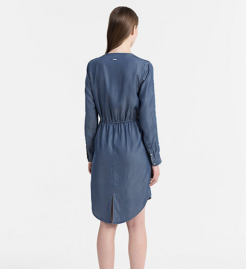 CALVIN KLEIN JEANS Shirt Dress - INDIGO - CALVIN KLEIN JEANS CLOTHES - detail image 1