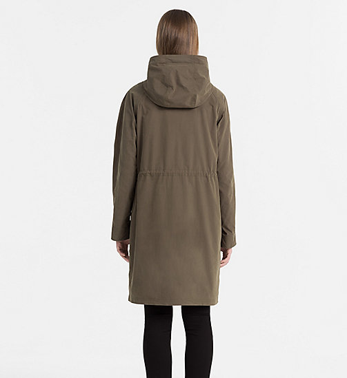 CALVIN KLEIN JEANS 2-in-1 Parka with Down Puffer - DUSTY OLIVE - CALVIN KLEIN JEANS COATS & JACKETS - detail image 1