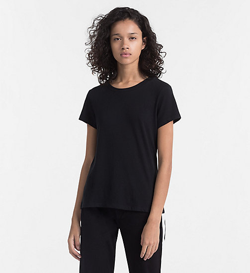 CALVIN KLEIN JEANS Basic T-Shirt - CK BLACK - CALVIN KLEIN JEANS NEW IN - main image