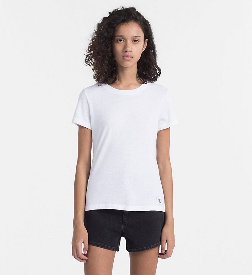CALVIN KLEIN JEANS T-shirt Basic - SPECTRA YELLOW - CALVIN KLEIN JEANS FEMMES - image principale